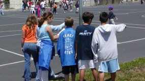 Peace Patrol using peer mediation