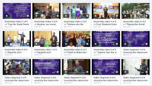 Vimeo Videos of the 1WOW.org School Program