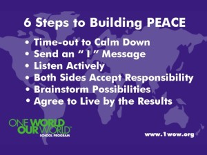 6 Steps to Building Peace