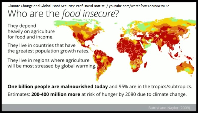 Food Insecure by 2080