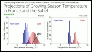 Growing Season Temperature Curves